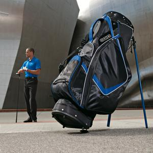 Ogio Golf Bag Golf Tournament giveaway logo promotional products at www.promosapien.ca