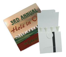 Logo's Golf Tee's golf promotional products at www.promosapien.ca