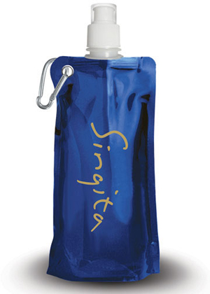 Foldable Water Bottle, Customized Water Bottles, Promotional Products Vancouver, www.promosapien.ca