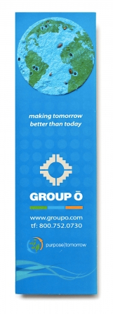 Seed Paper Promotional Products, Eco and Earth Friendly Marketing from Promosapien.ca