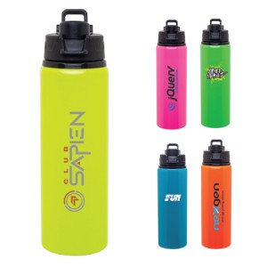 Neon-water-bottle-with-logo