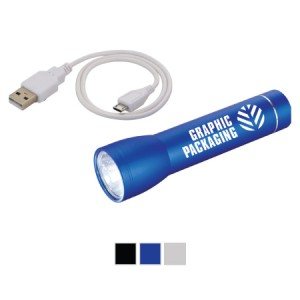 Beacon-flashlight-power-bank-with-logo