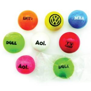 Custom-logo-gum-balls