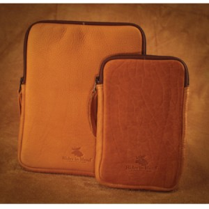 Buffalo-hide-custom-tablet-holder