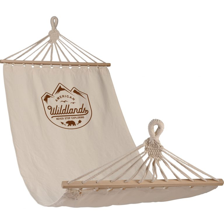 Natural Hammock with Logo