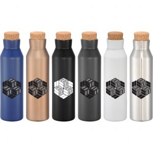 Norse Copper Vacuum Insulated Bottle with Cork Top